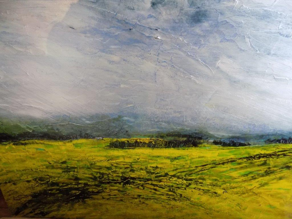 Between the Soft Moor and the Soft Sky*  36 X 48