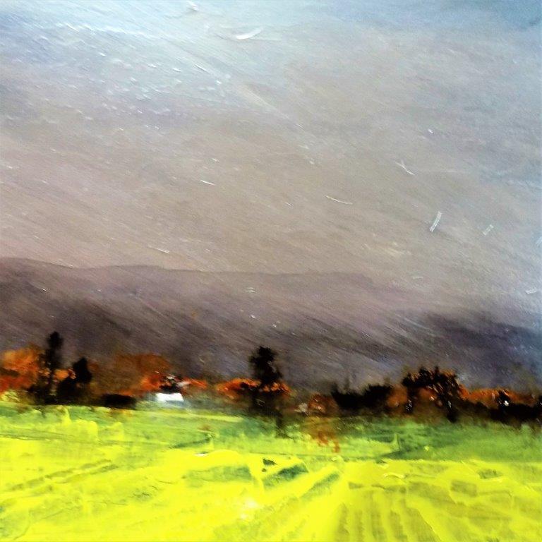 The sky is torn across*  40 x 60  Lorimer Gallery PEI