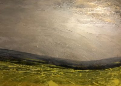 To Move along the Edges of a Field  40 x 60  SOLD