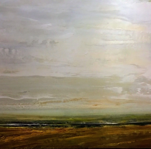 Where I Wandered and Listened  30 x 30  NEW* Lorimer Gallery PEI